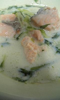 【豆乳スープ】