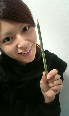 ひさしぶりの鉛筆
