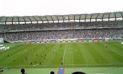 スタジアム〜♪