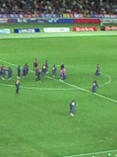 FC東京勝利。