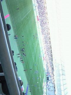 スタジアム。
