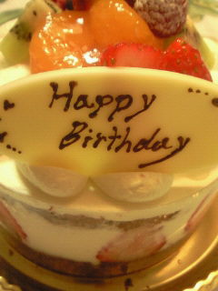 Happy Birthday<br />  。