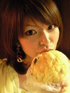 メロンパンでもこの味は初めて〜☆☆☆